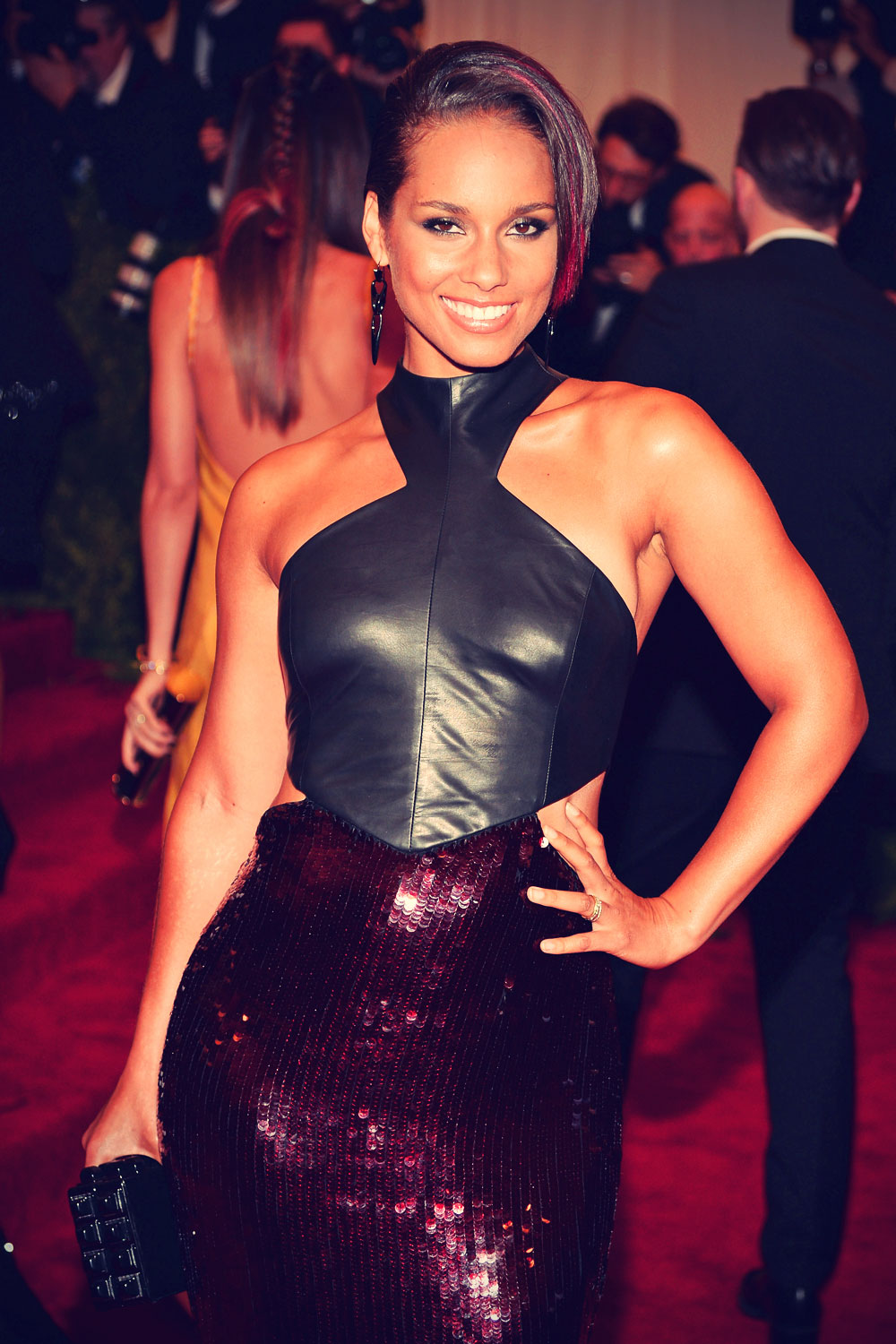 Alicia Keys attends 2013 Met Gala