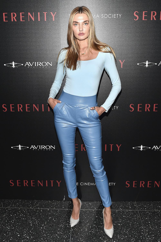 Alina Baikova attends Serenity Film Premiere