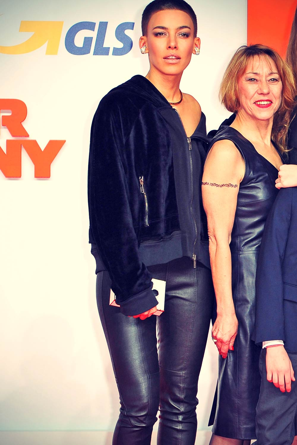 Alina Suggeler attends The Nanny Premiere