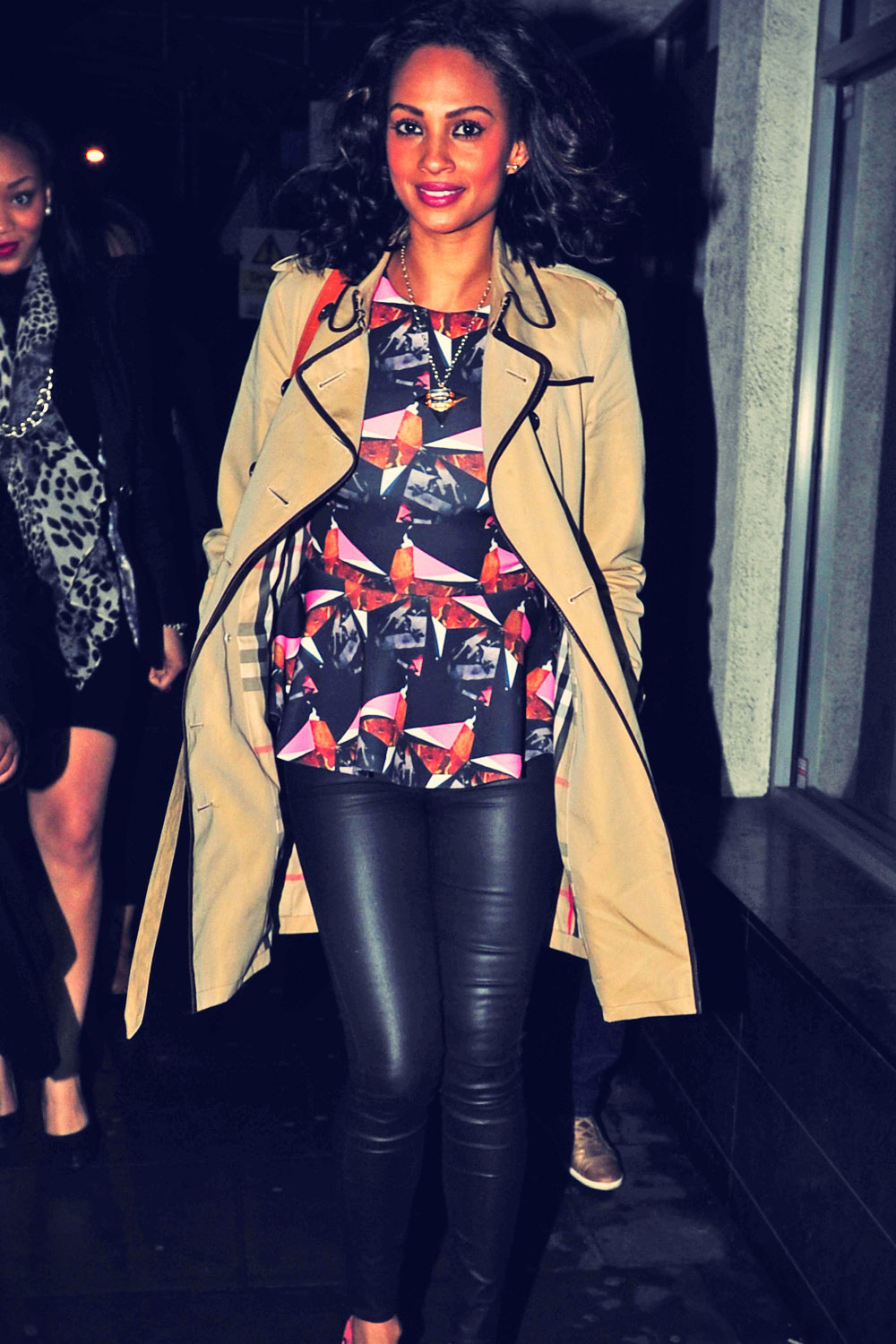 Alesha Dixon Leaving Jazz cafe