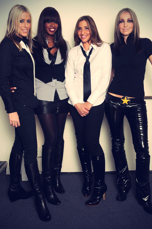 All Saints leather mix