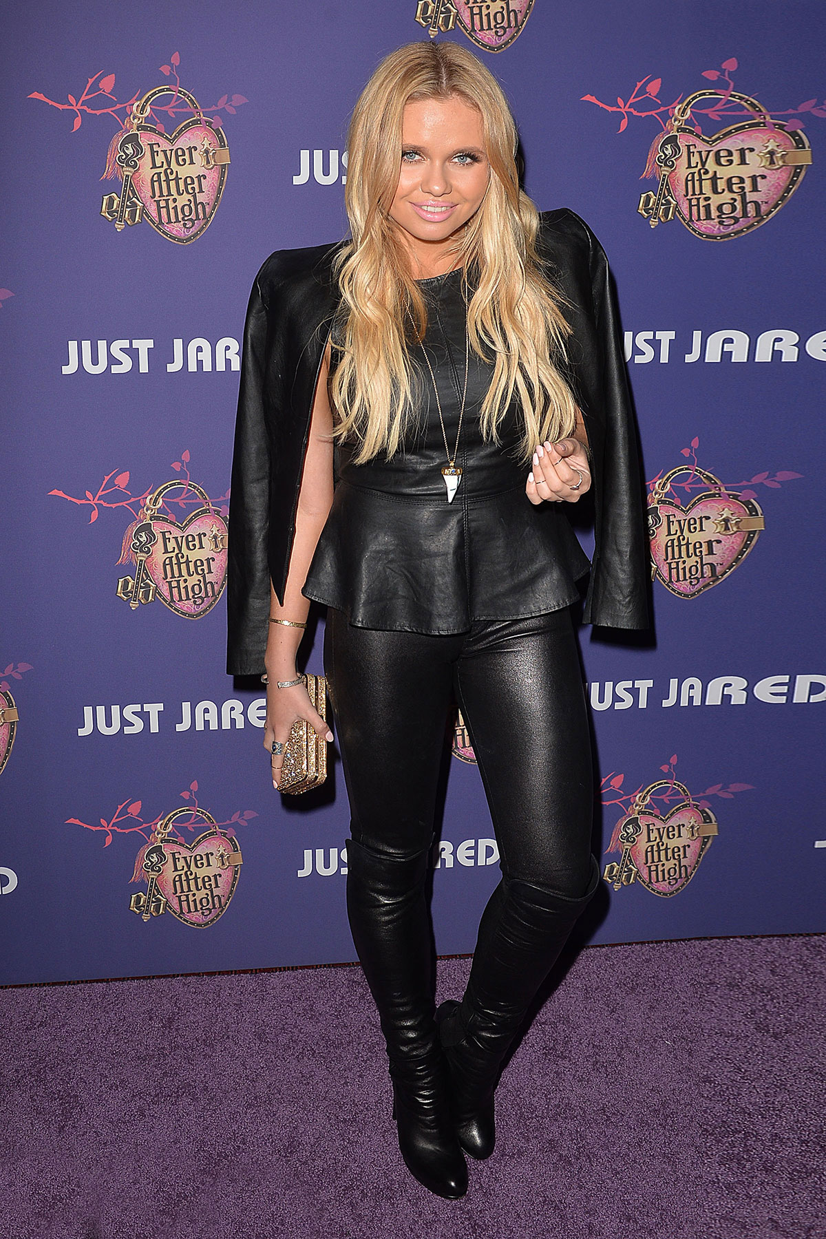 ... Alli Simpson at Just Jared's Homecoming Dance