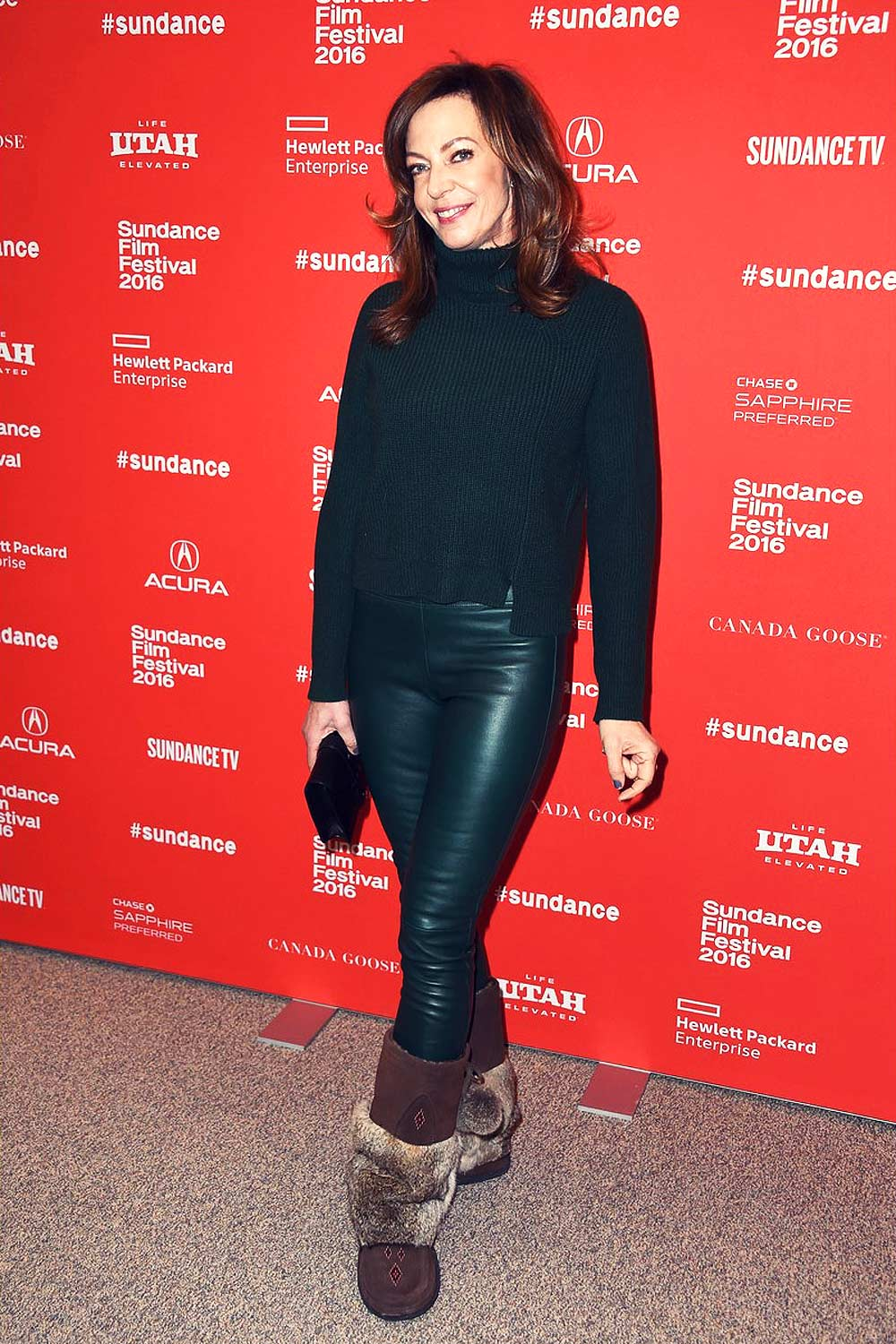 Allison Janney at the 2016 Sundance Film Festival