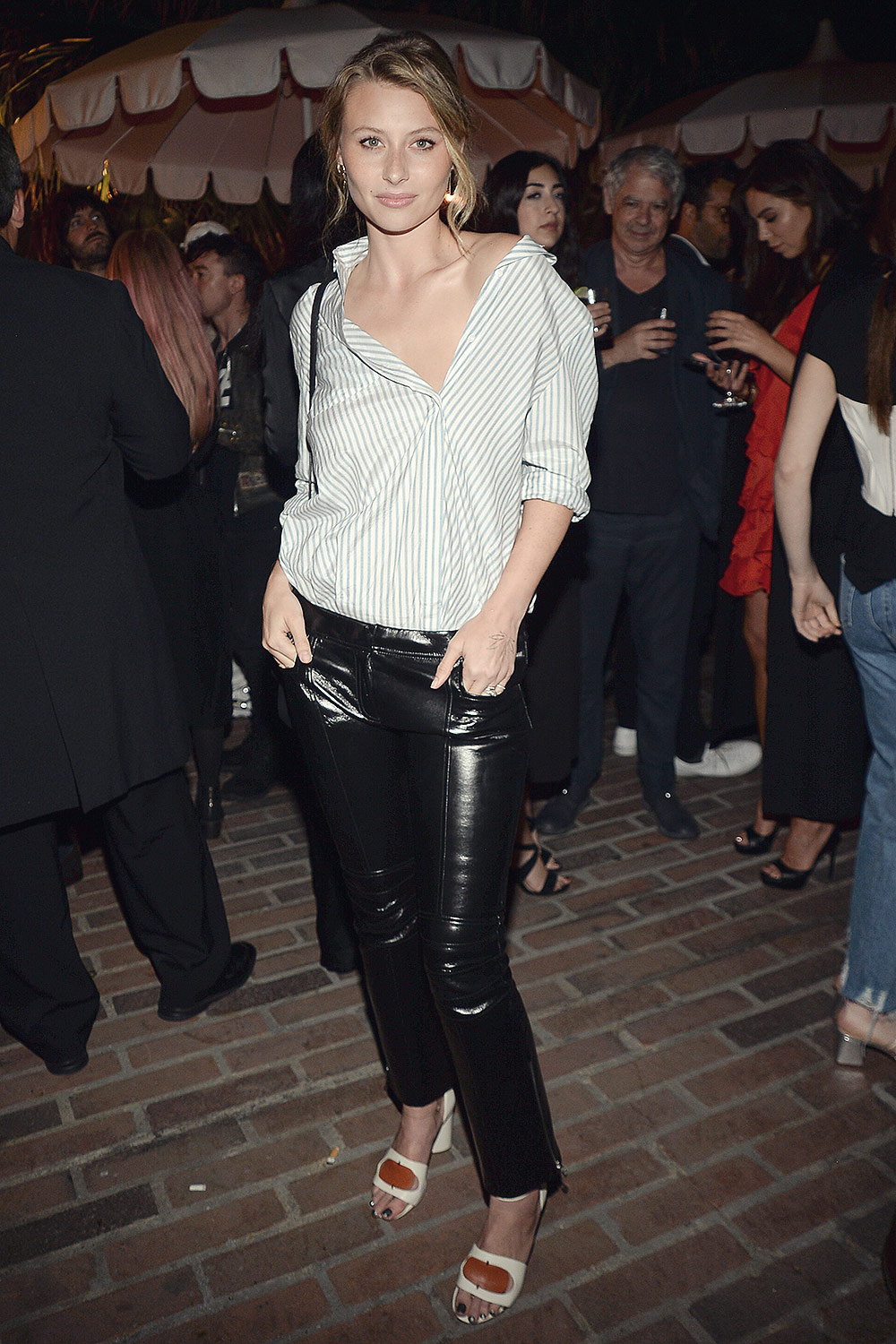 Aly Michalka attends Oliver Peoples 30th Anniversary Party