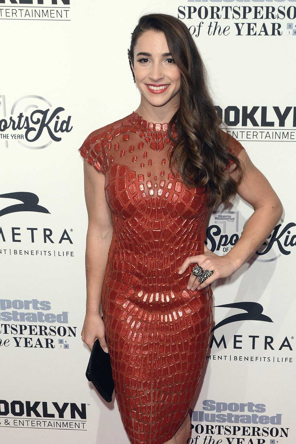 Aly Raisman attends Sports Illustrated Sportsperson of the Year 2016