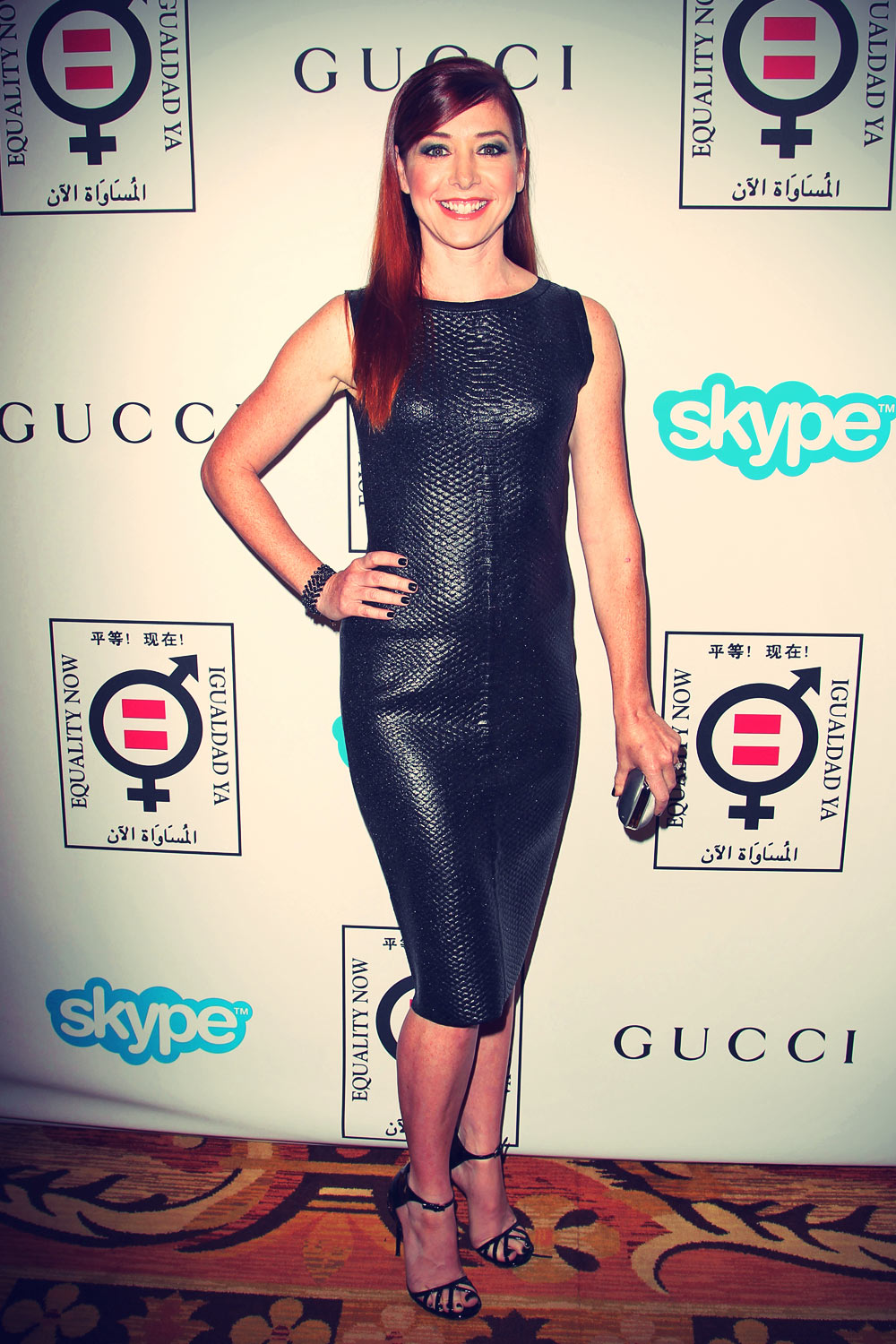 Alyson Hannigan Equality Now Presents Make Equality Reality Event