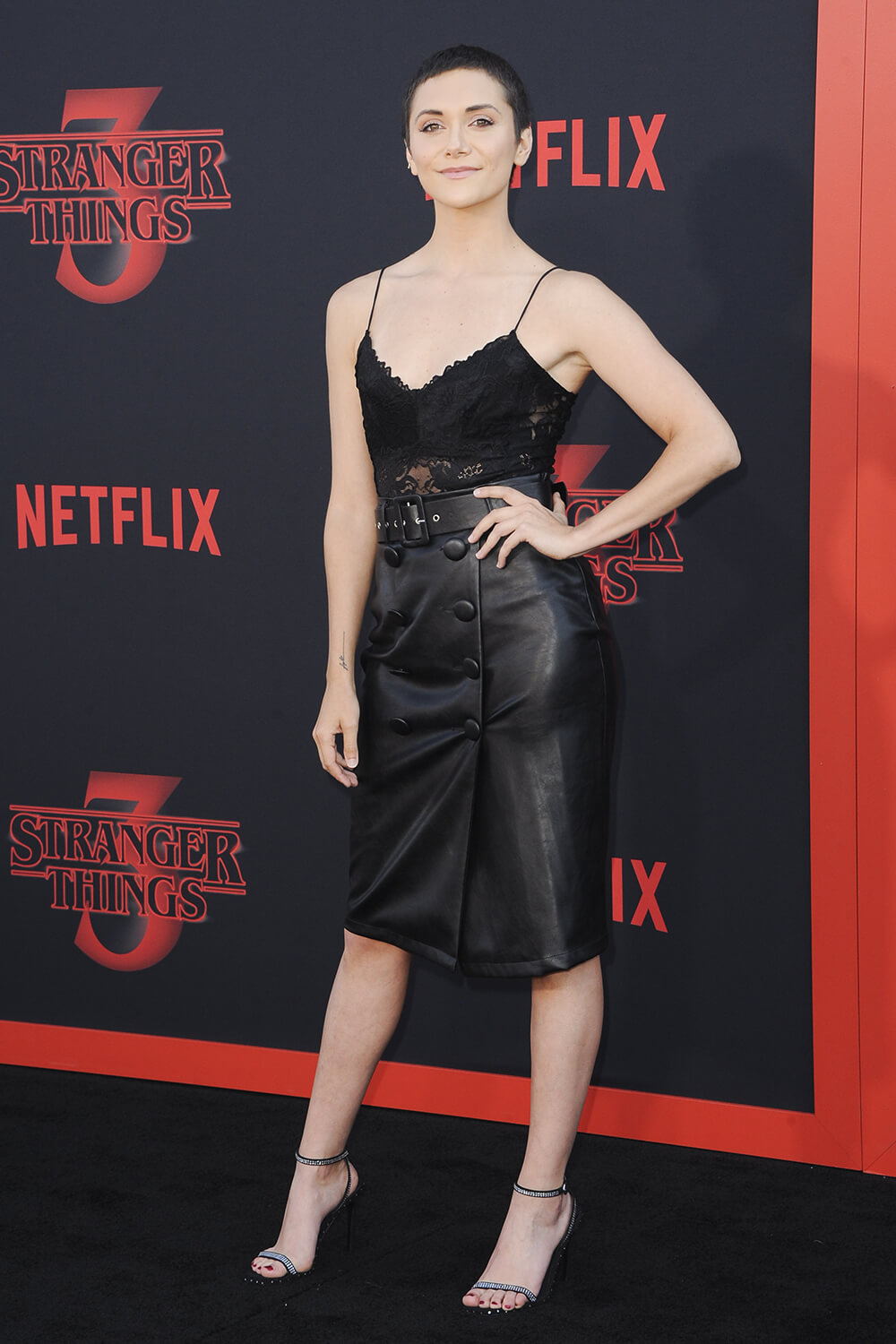 Alyson Stoner attends Stranger Things season 3 premiere