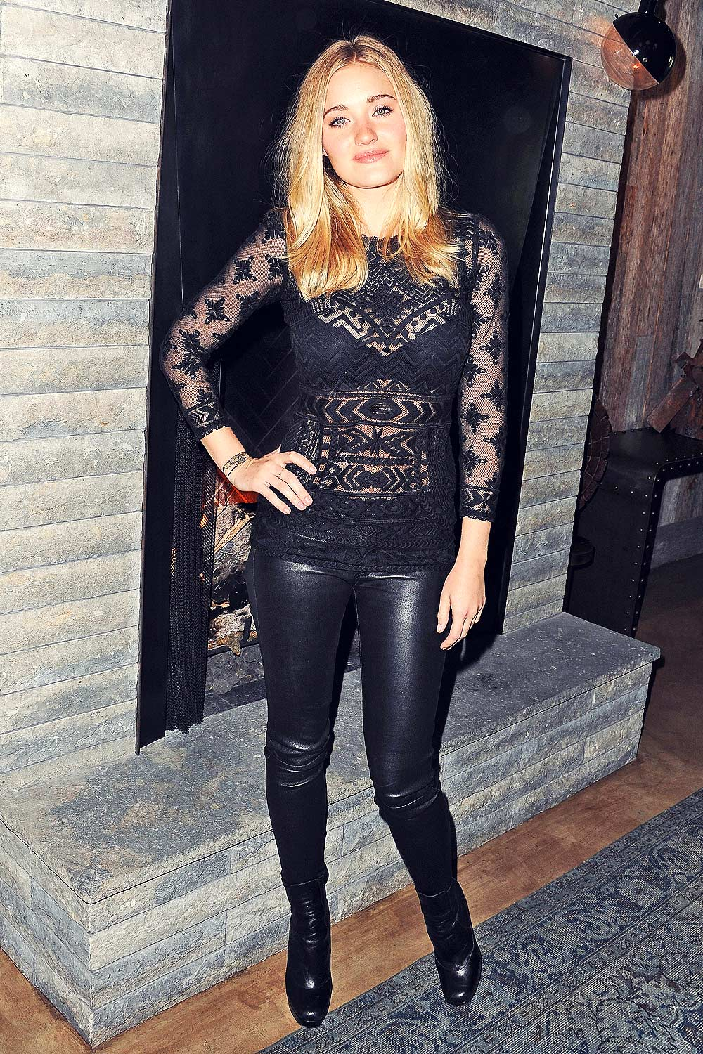 AJ Michalka attends the screening of Weepah Way For Now