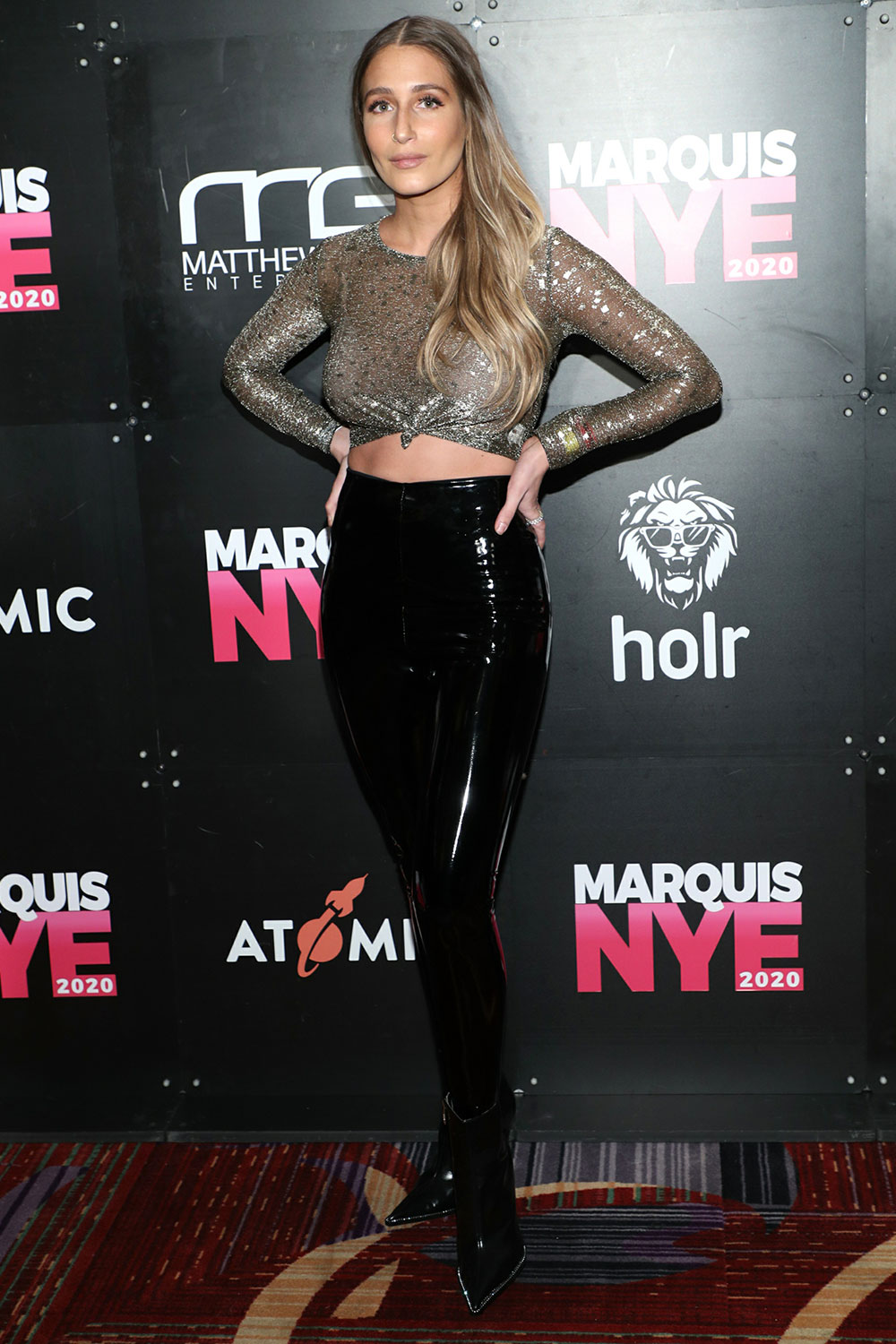 Amanda Batula attends Marquis VIP Party