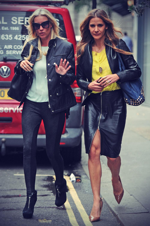 Amanda Byram & Denise Van Outen The Ivy Club