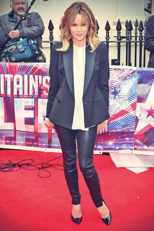 Amanda Holden attends Britain's Got Talent Press Launch