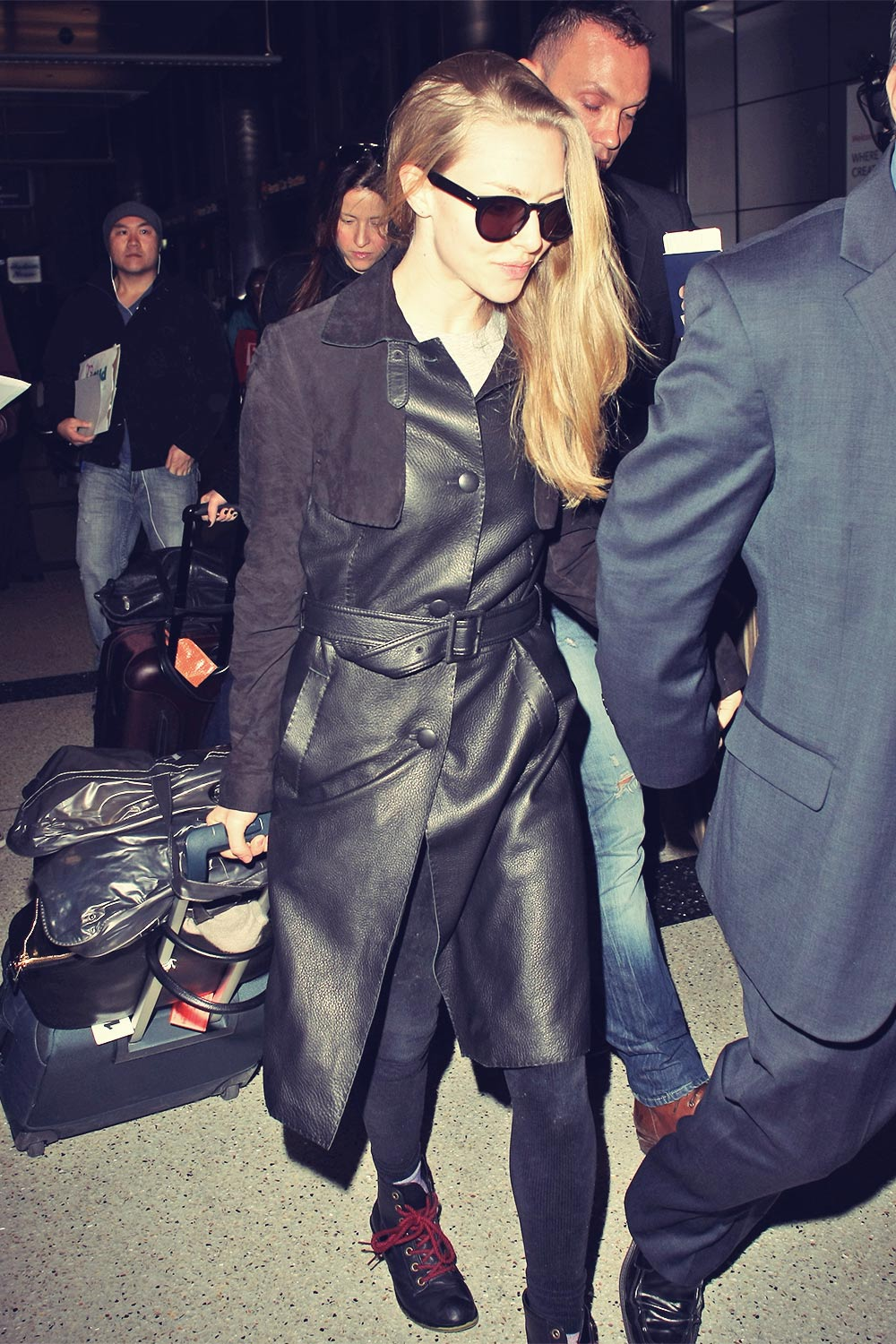 Amanda Seyfried at LAX