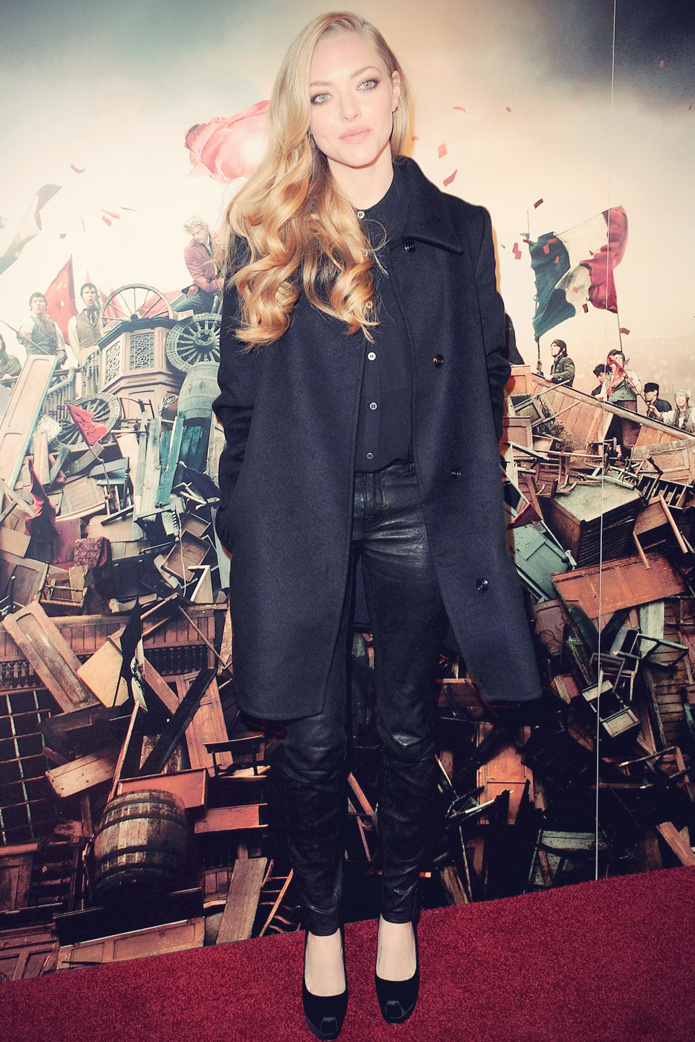 Amanda Seyfried attends Les Miserables World Premiere After Party