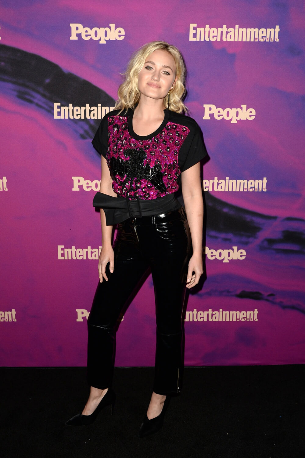 Amanda AJ Michalka attends Entertainment Weekly & People New York Upfronts Party