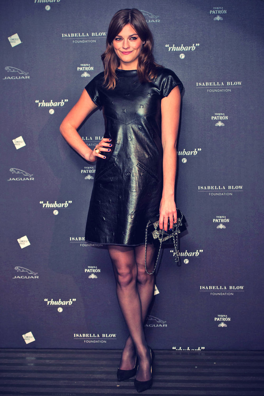 Amber Anderson attends Isabella Blow Fashion Galore