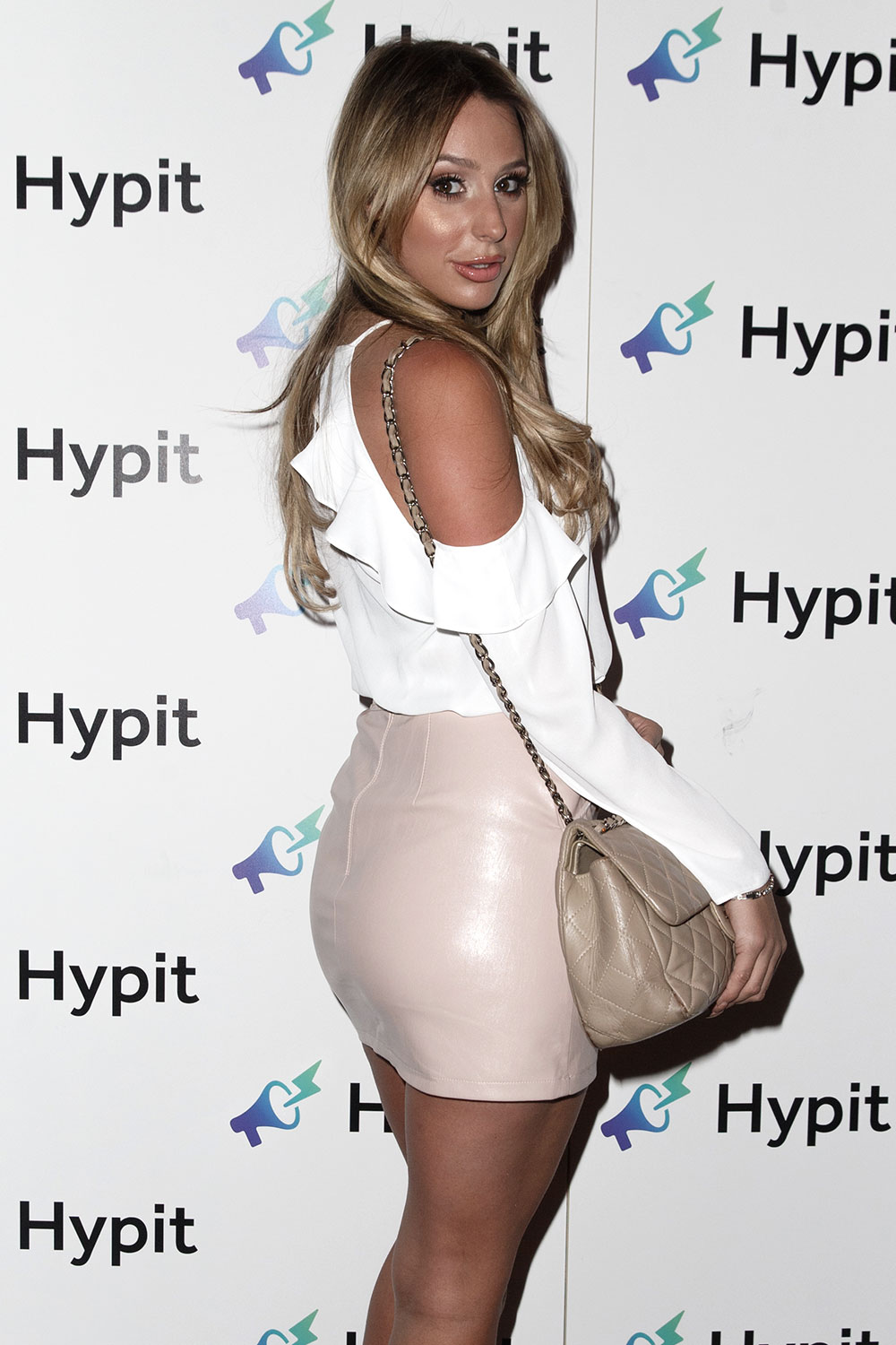 Amber Dowding attends The Hypit Launch Party