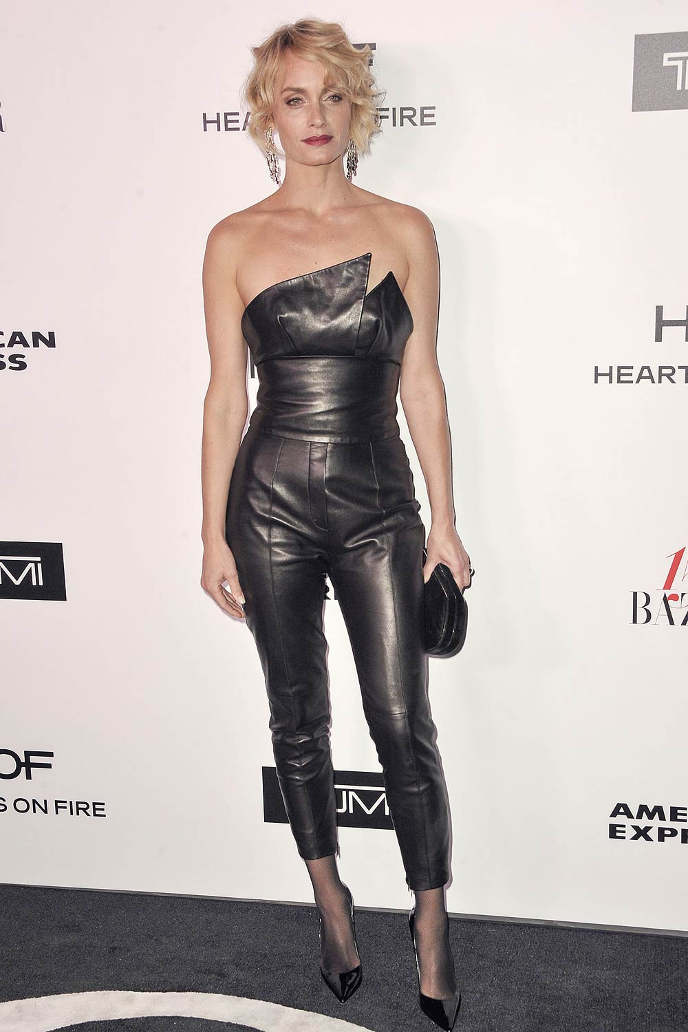 Amber Valletta attends Harper's BAZAAR celebration of the 150 Most Fashionable Women