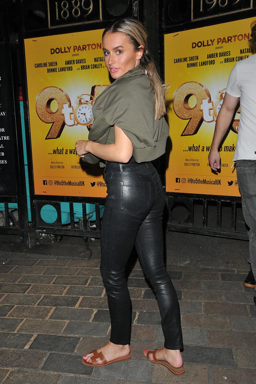 Amber Davies leaving Savoy Theatre