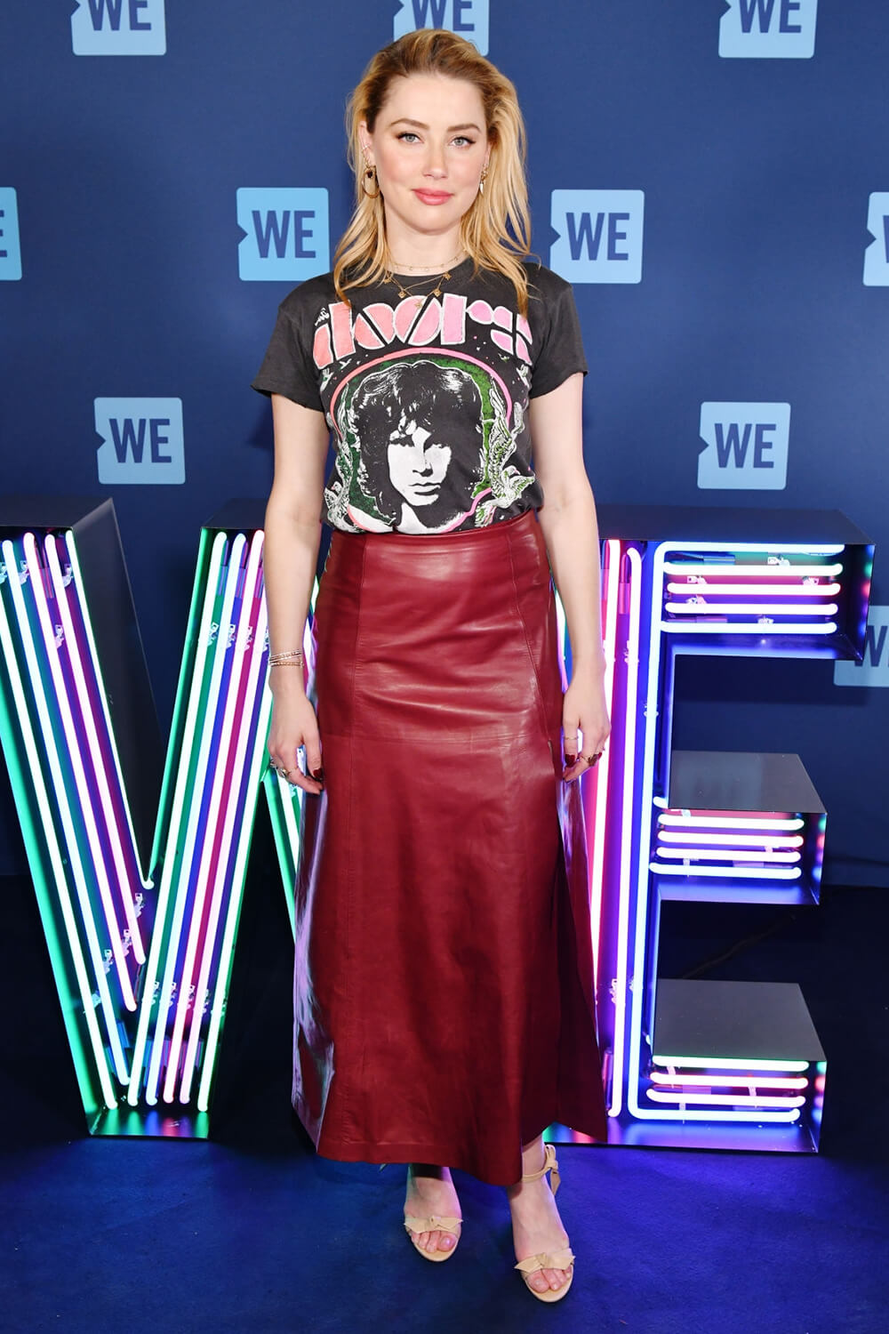 Amber Heard at WE Day New York