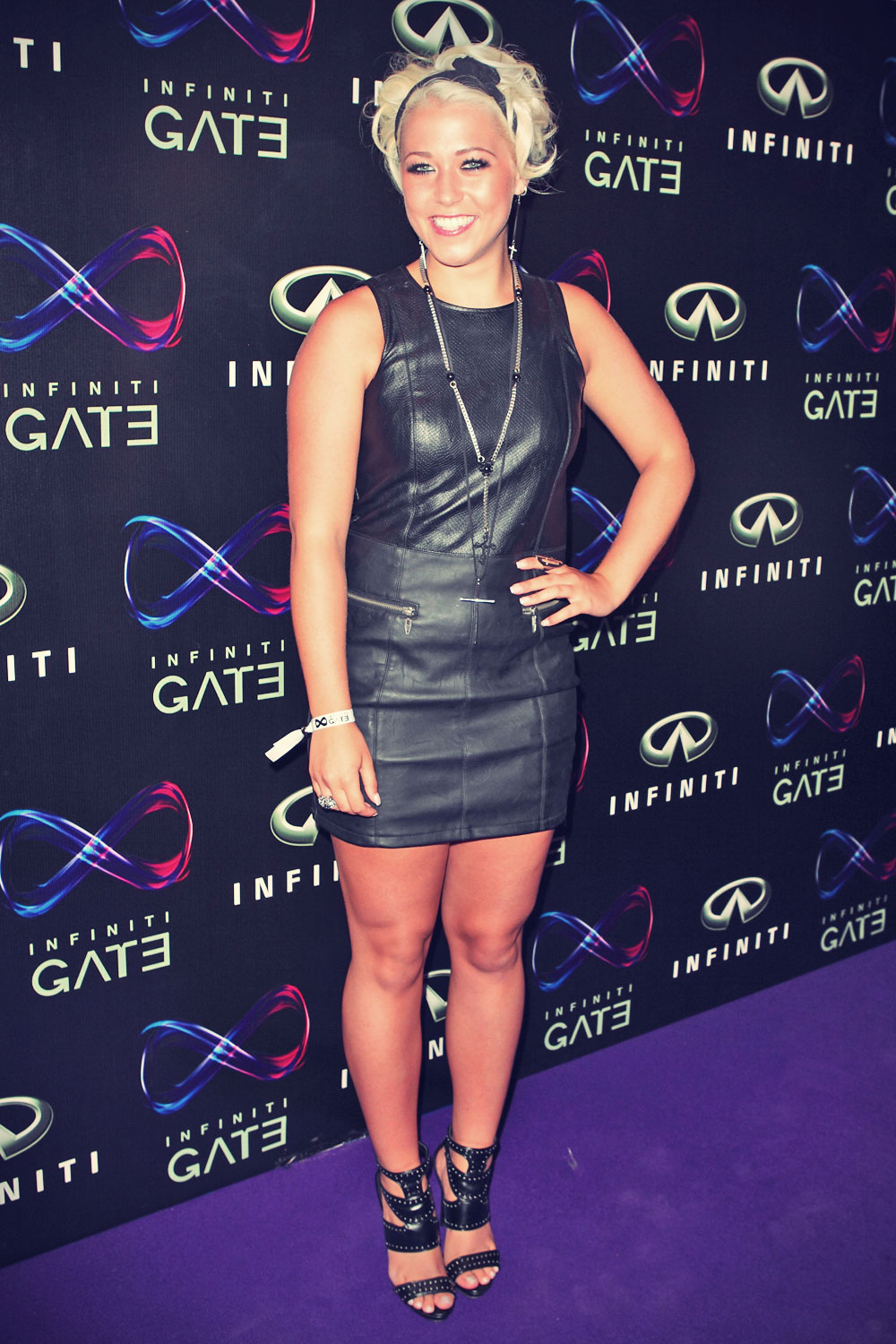 Amelia Lily attends Infiniti Gate Event at the London Film Museum