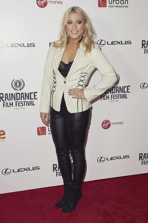 Amelia Lily attends Raindance Film Festival Opening Gala