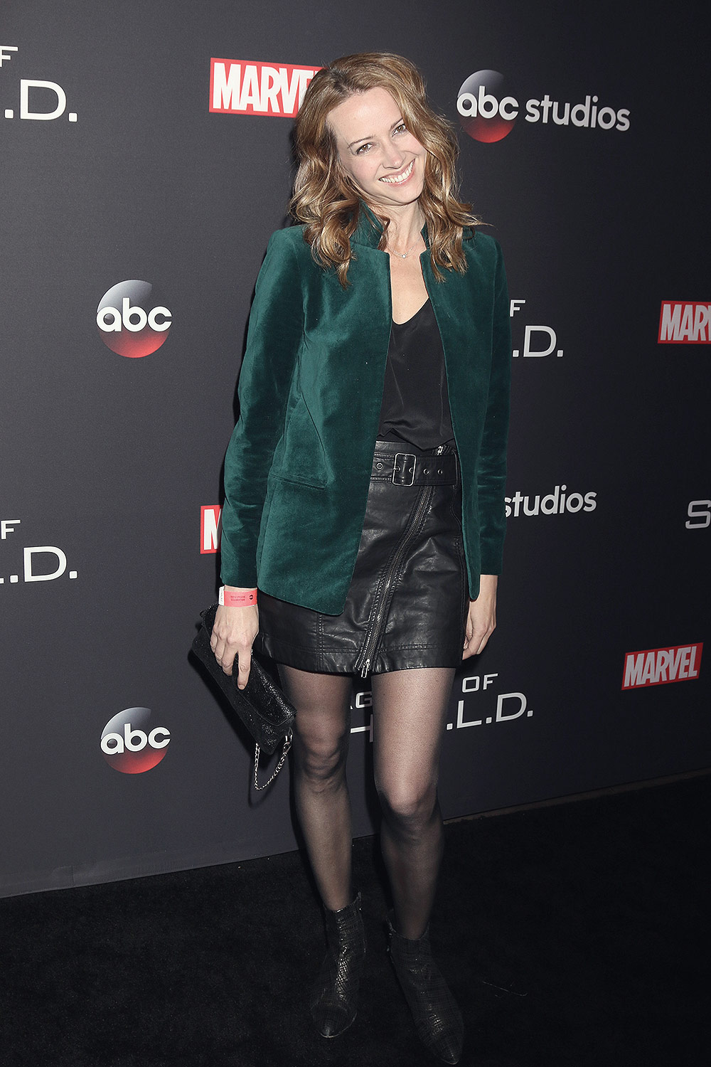 Amy Acker attends The 100th episode celebration of 'Agents of S.H.I.E.L.D.'