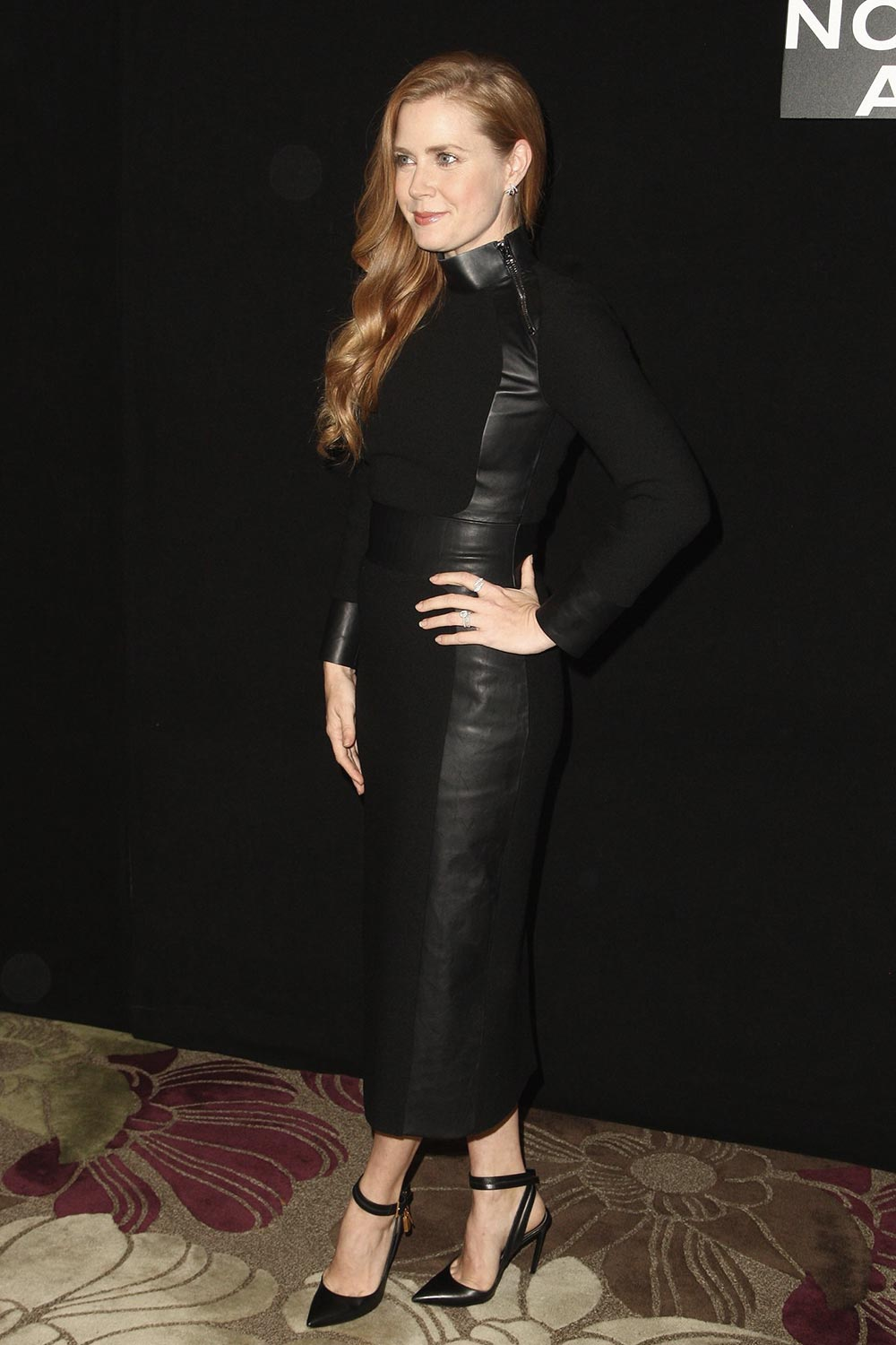Amy Adams attends Nocturnal Animals Photocall