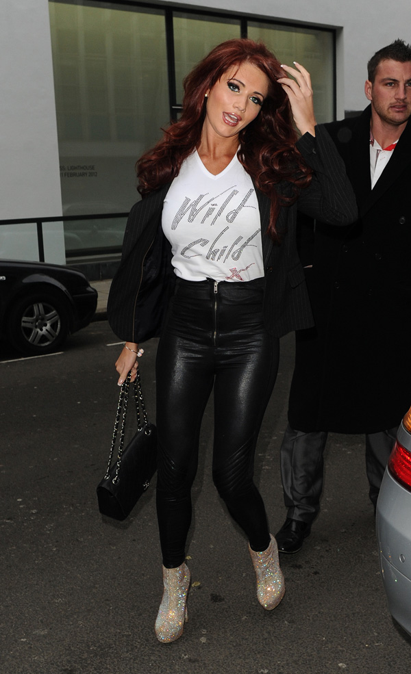 Amy Childs at Kandee Shoe Collection Launch Party