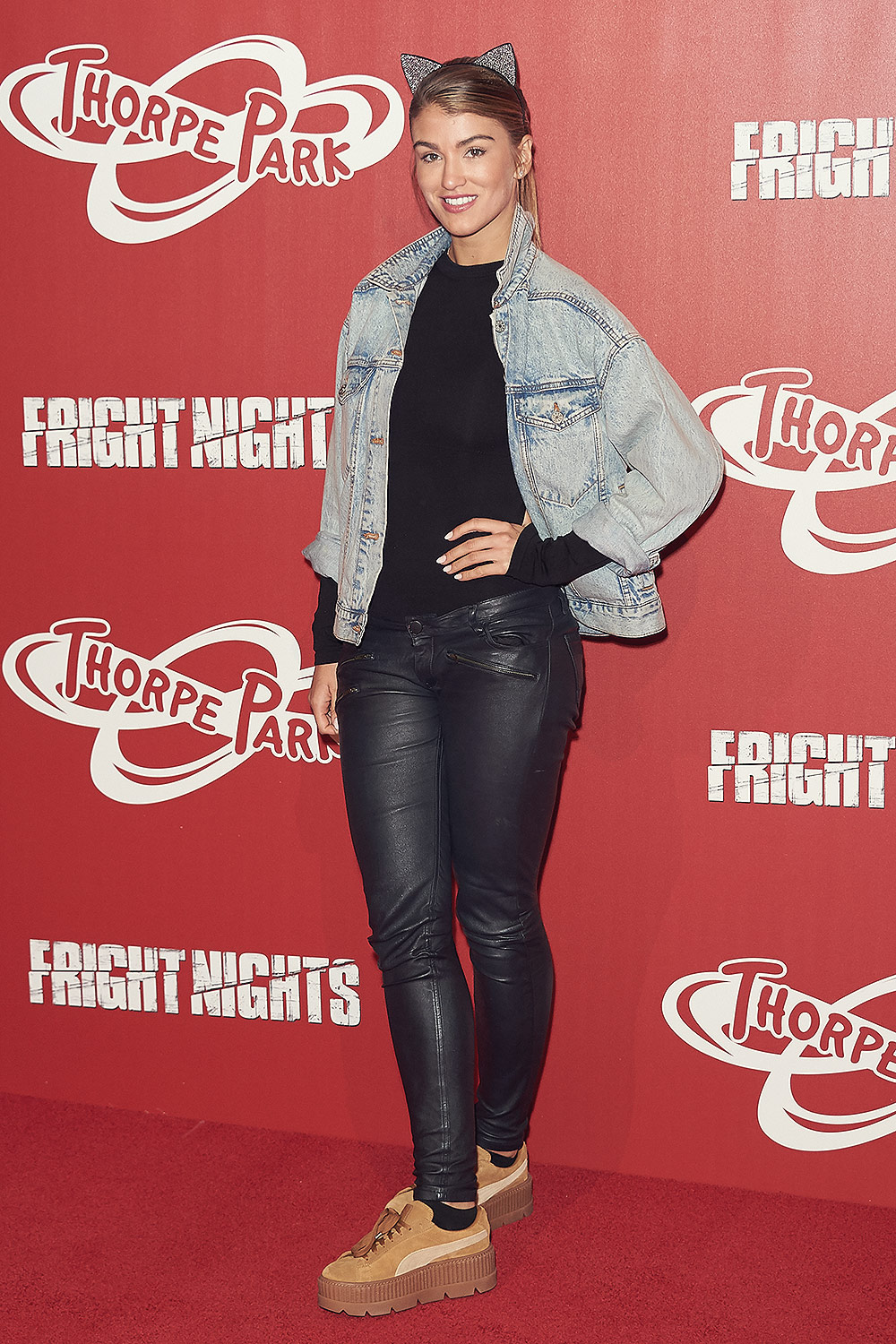 Amy Willerton attends Fright Nights VIP Launch Party