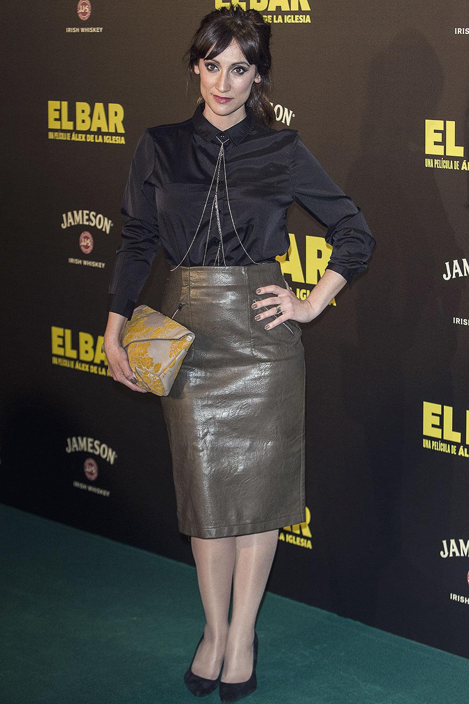 Ana Morgade attends El Bar premiere