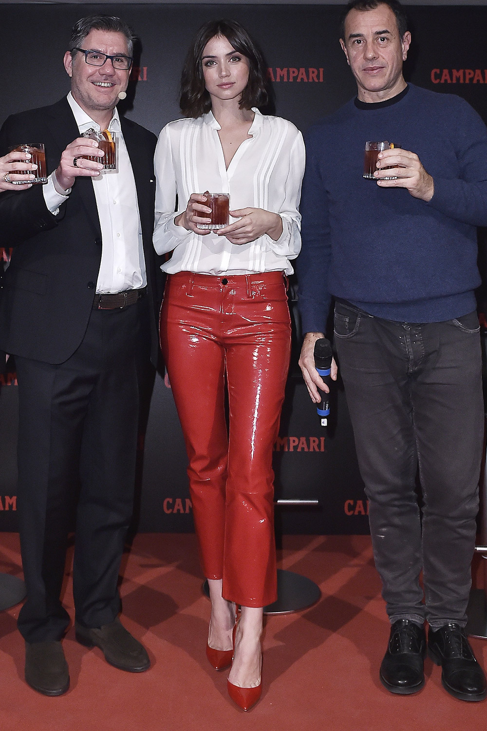 Ana de Armas attends Campari Red Diaries 2019 Press Conference