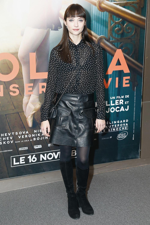 Anastasia Shevtsova attends Polina, Danser Sa Vie Paris Premiere