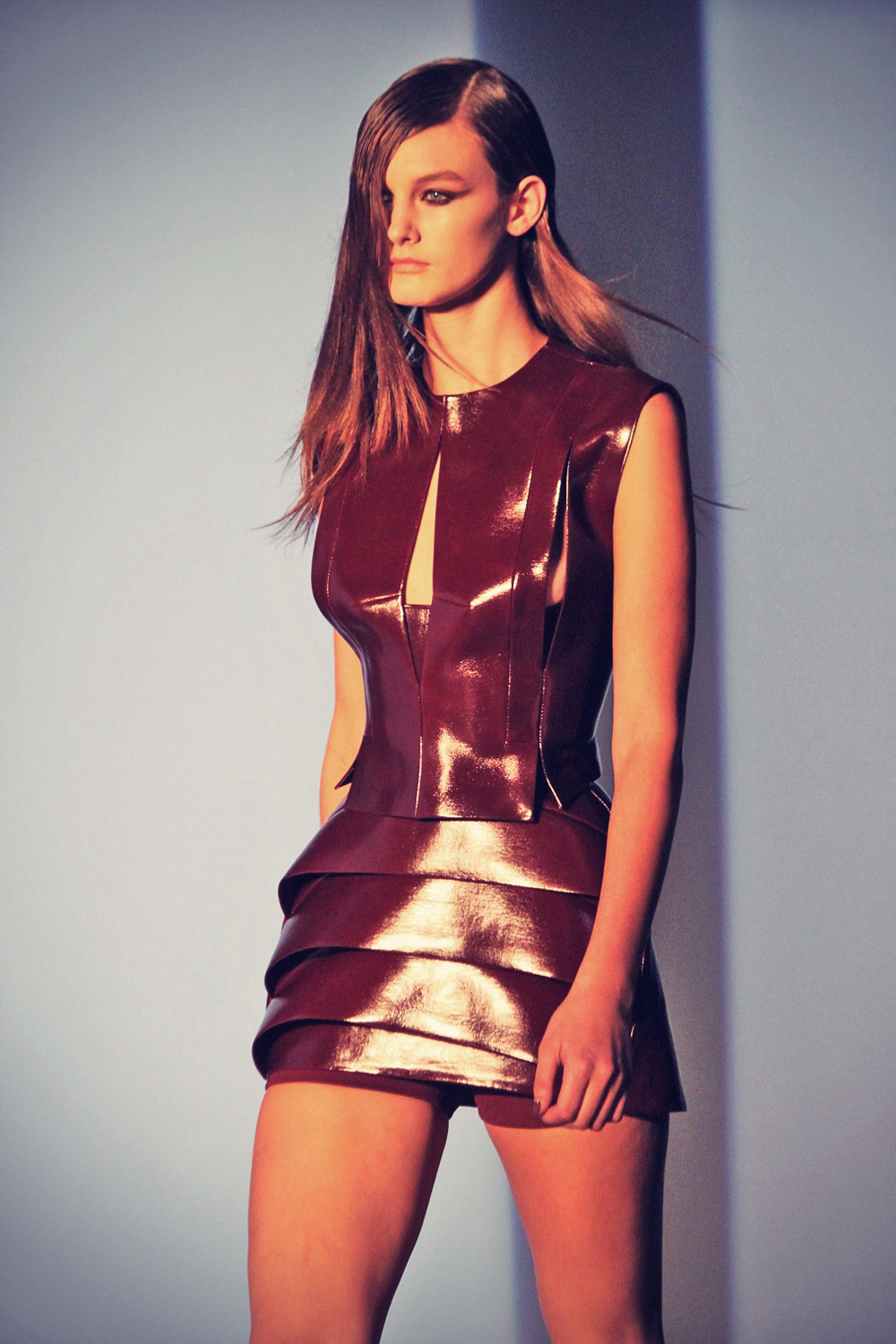 Andie Arthur leather mix