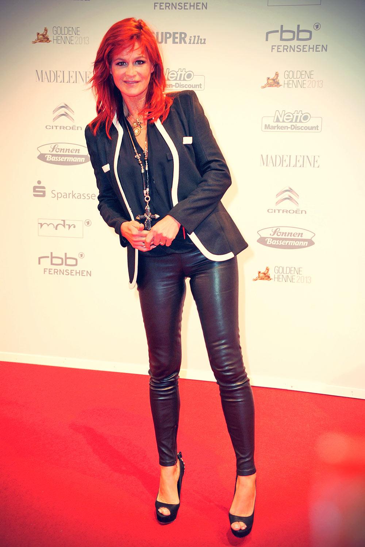 Bambi Preisverleihung; Andrea Berg at 19 Verleihung Goldene Henne 2013