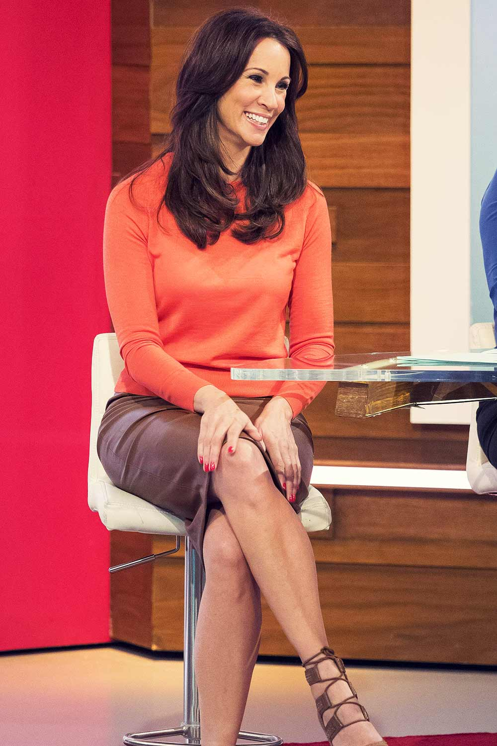 ... Andrea McLean at Loose Women TV show