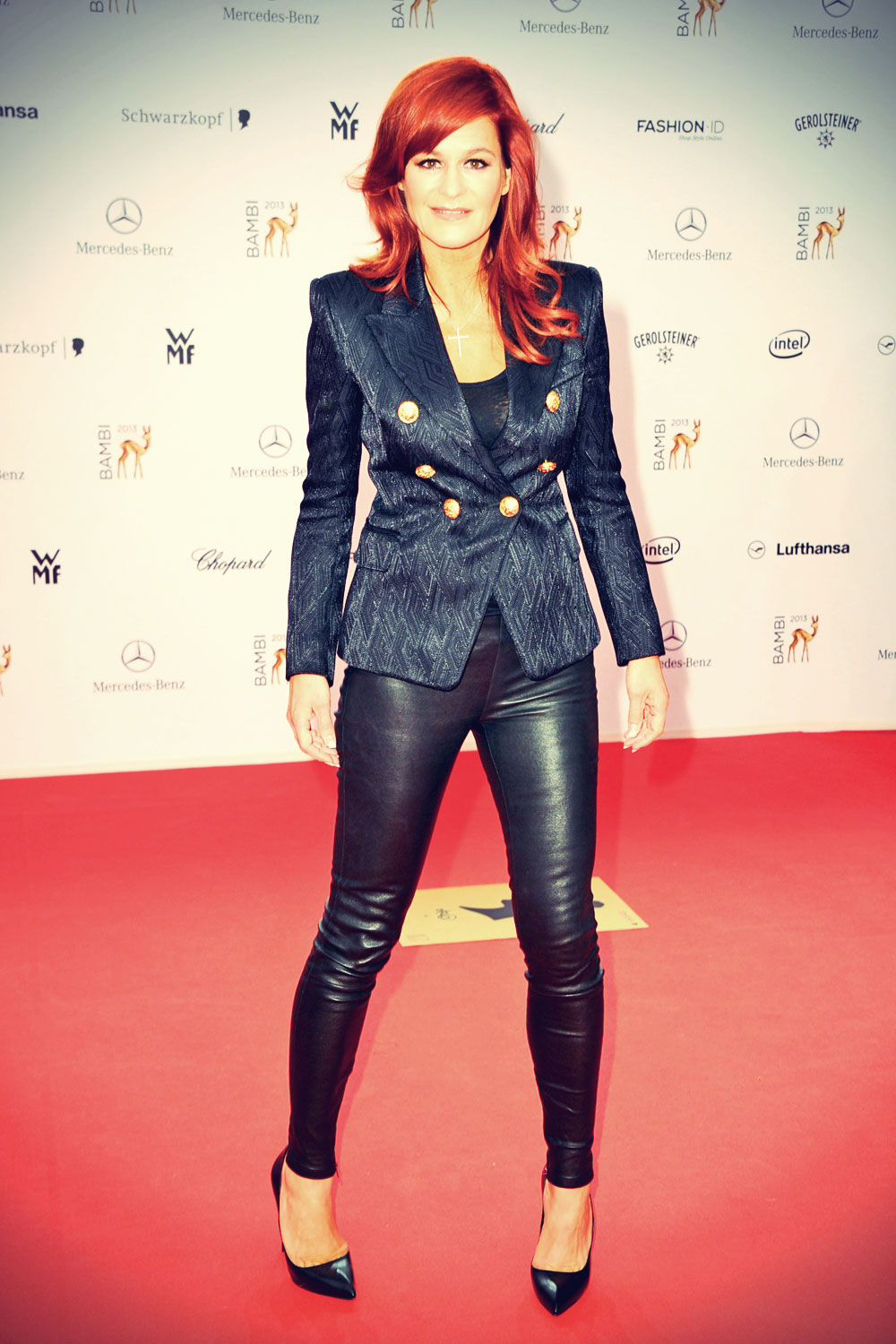Andrea Berg attends 65 Bambi award ceremony