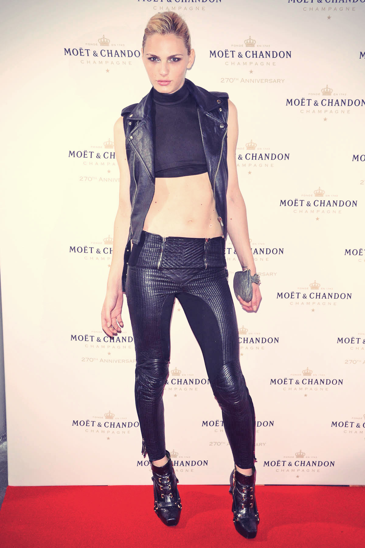 Andrej Pejic attends The Moet & Chandon 270th Anniversary