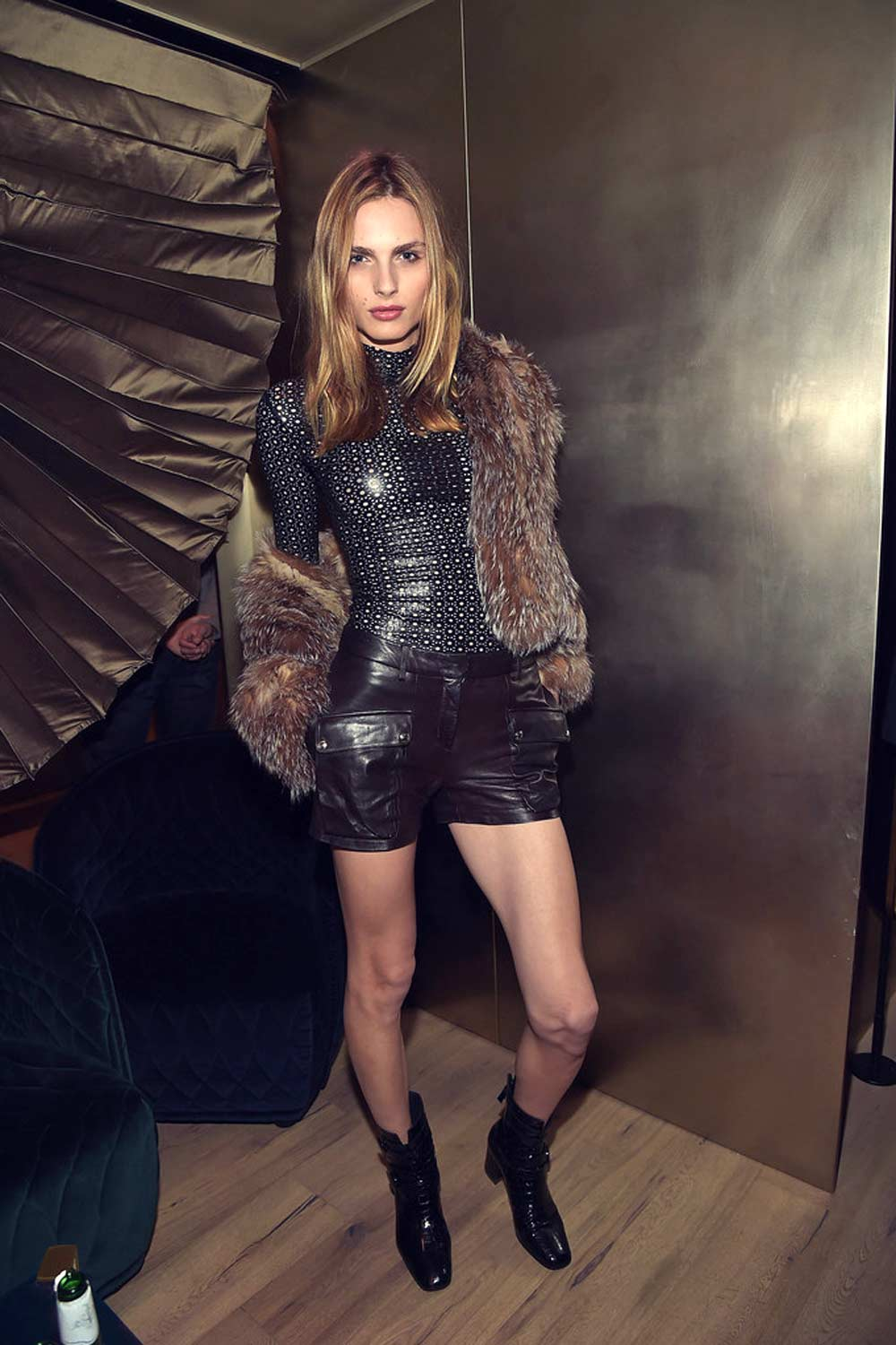 Andreja Pejic photoshoot for the TV Guide Magazine celebrates Dick Wolf's Chicago Series
