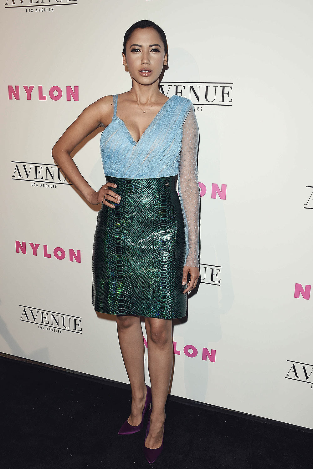 Andy Allo at the NYLON Young Hollywood Party