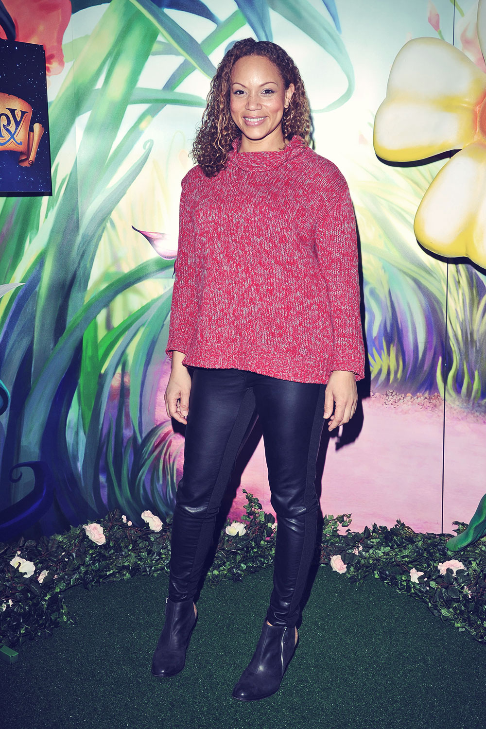 Angela Griffin attends Tinker Bell & The Pirate Fairy