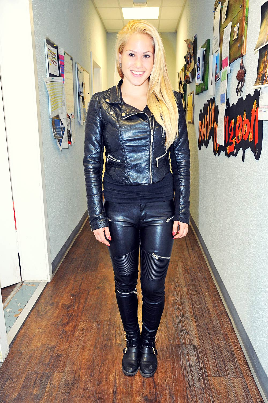 Angelina Heger attends Berlin Dungeon Leather Celebrities