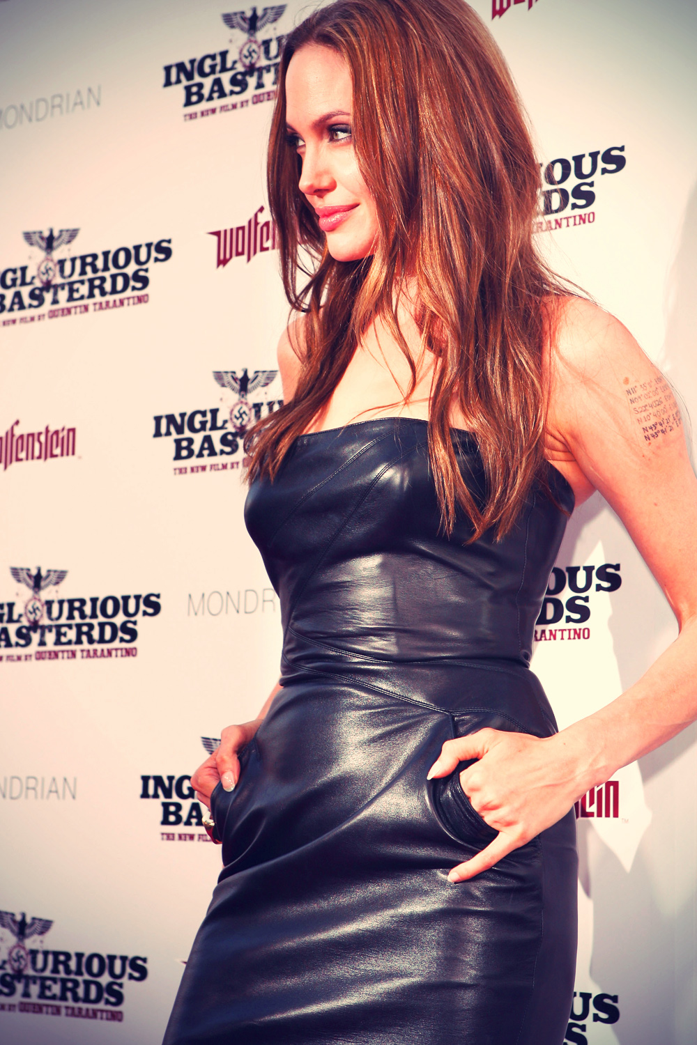 Angelina Jolie at Inglorious Basterds Premiere