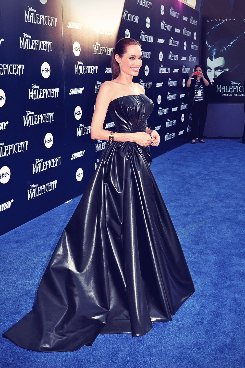 Angelina Jolie attends World Premiere of Disney Maleficent