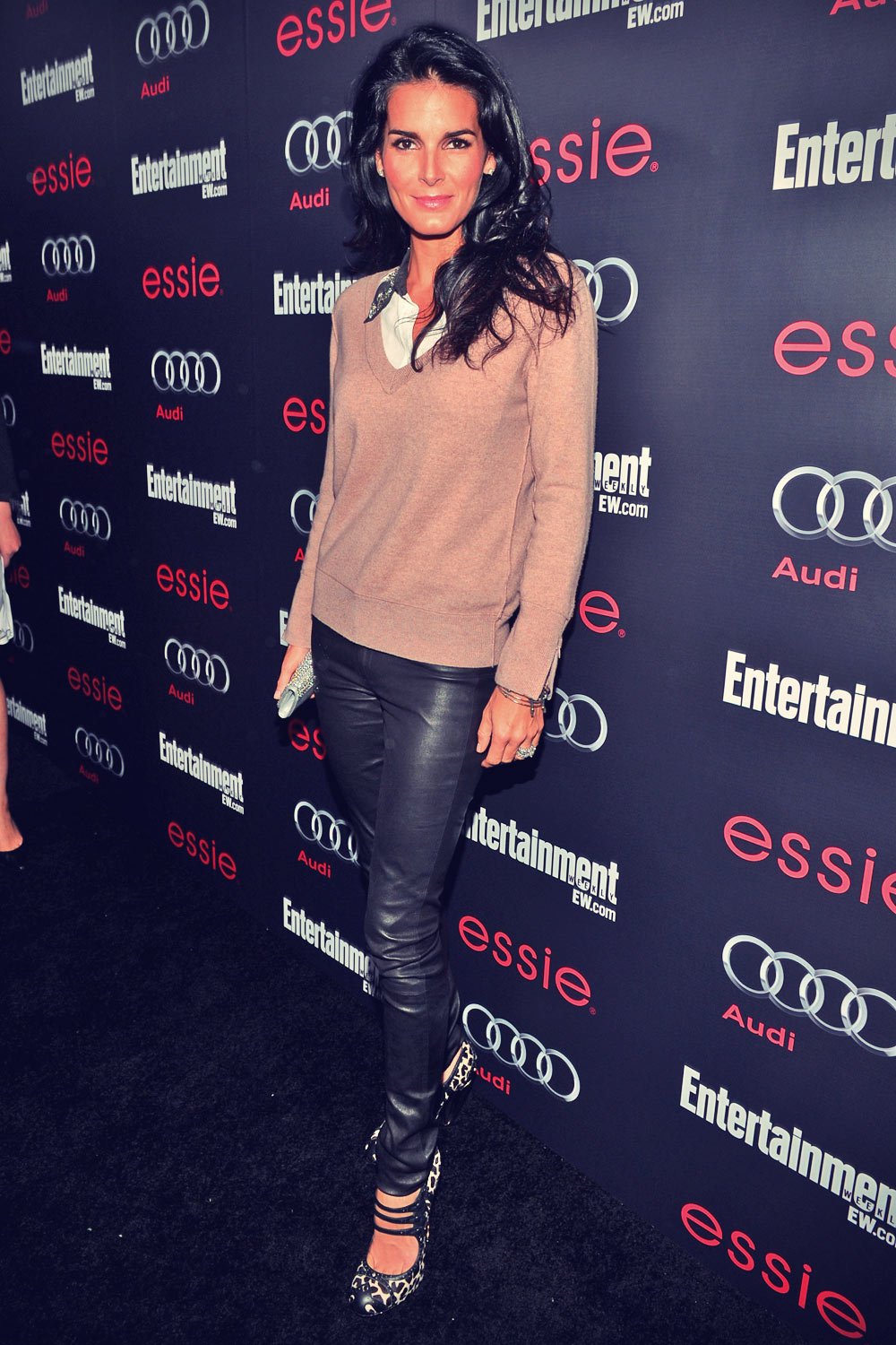 Angie Harmon attends Entertainment Weekly Pre-SAG Party