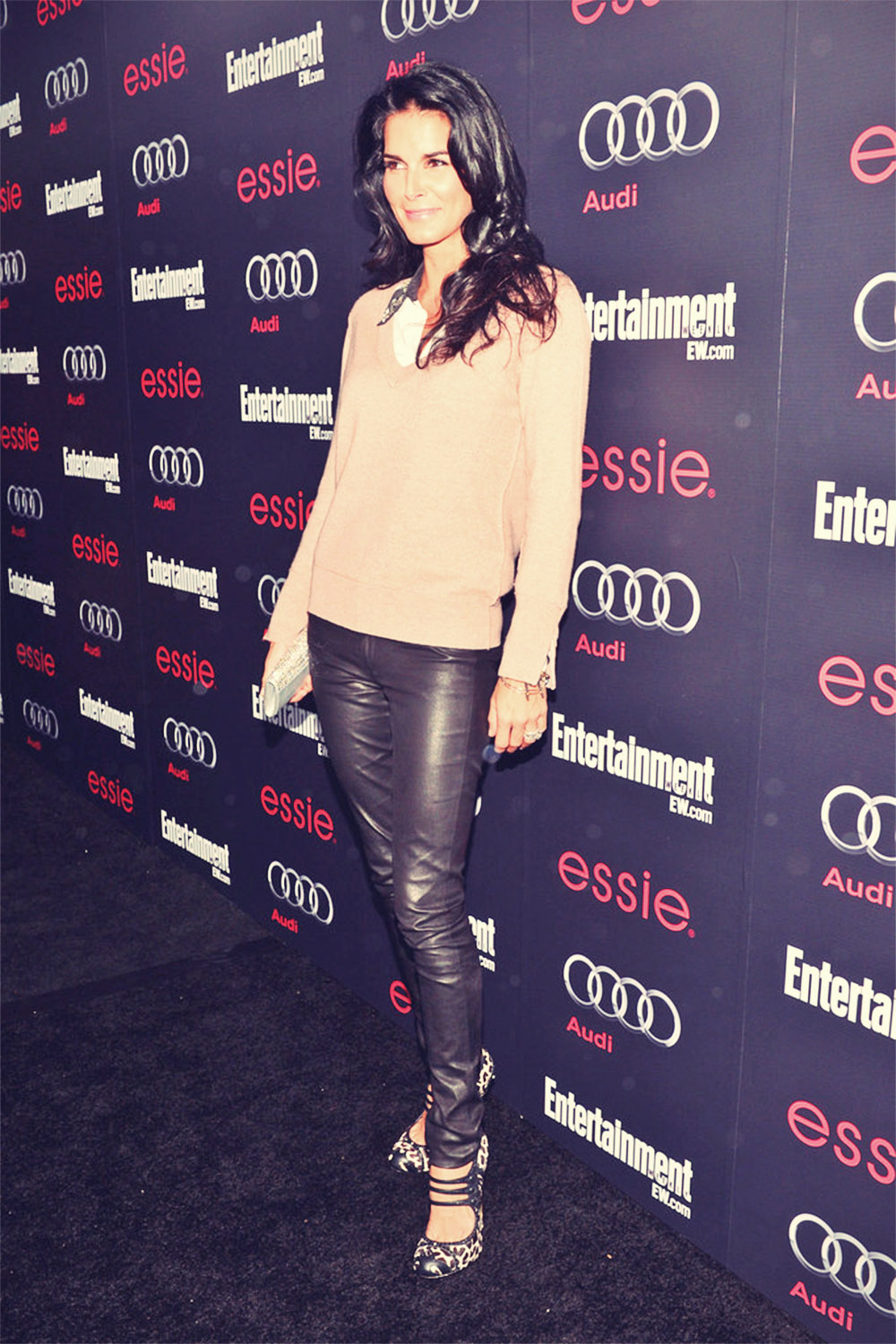 Angie Harmon attends the Entertainment Weekly Pre-SAG Party