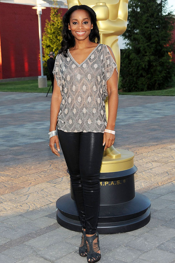 Anika Noni Rose attends The Academy of Motion Picture Arts