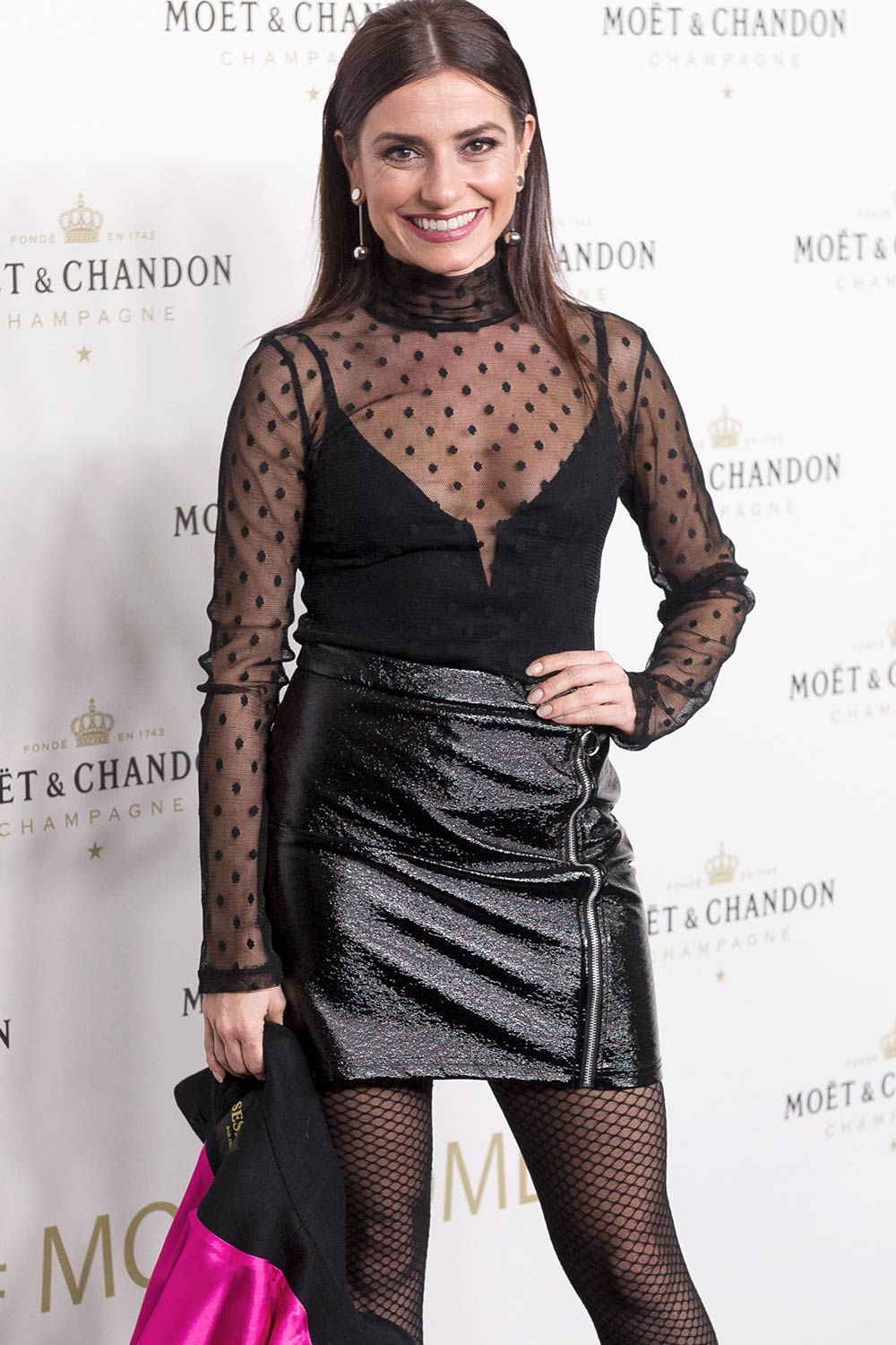 Anita del Rey attends the 'Moet & Chandon' New Year's ...