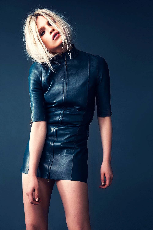 Anja Konstantinova in Glamour Magazine Iceland