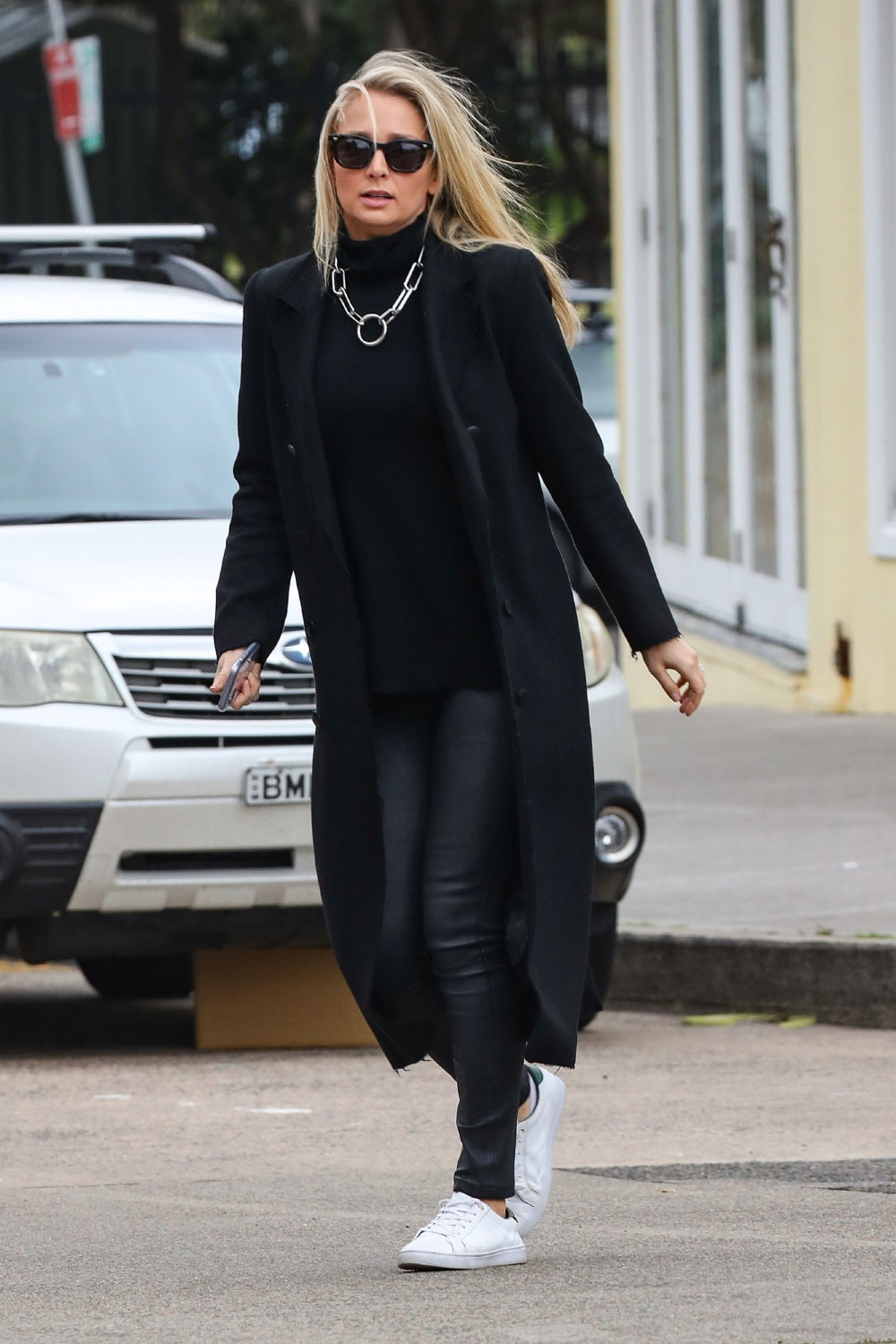 Anna Heinrich stepping out for brunch