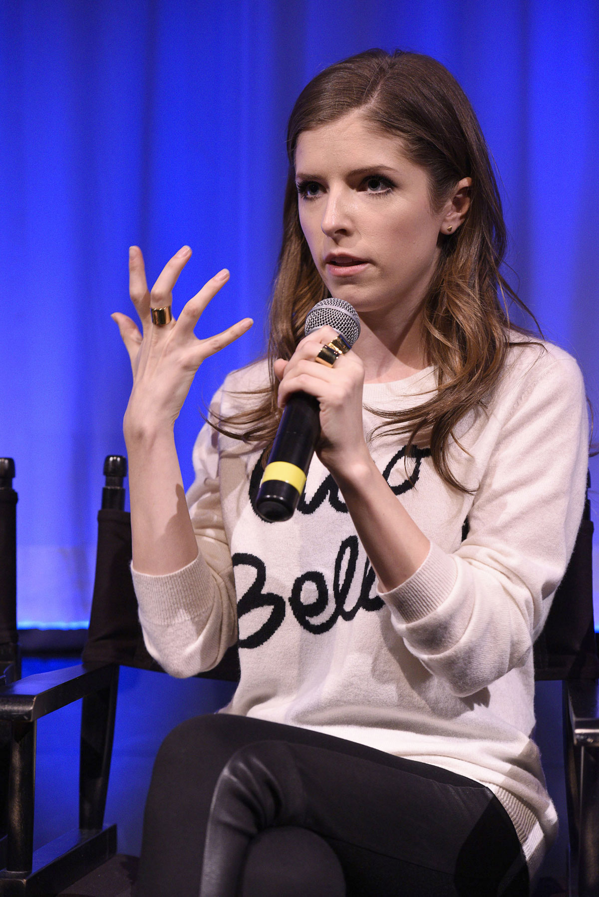 Anna Kendrick attends AMPAS Screening of Into The Woods